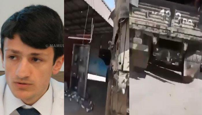 Armenian politician spreads new  video footage  from Shusha battles