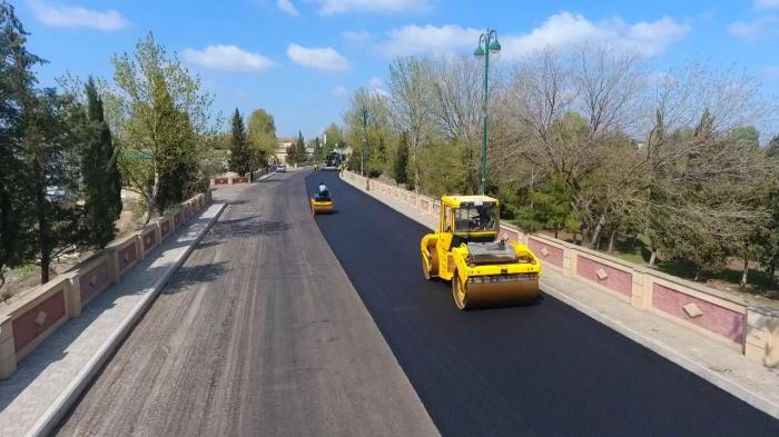 Azerbaijan restoring roads in Tartar damaged during Second Karabakh War