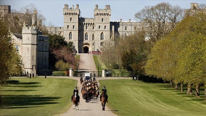 Les obsèques du Prince Philip, époux de la reine Elizabeth II au château de Windsor