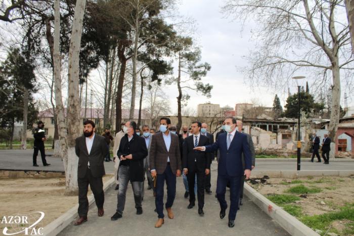 ممثلو منظمة التعاون الإسلامي يتعرفون على جرائم الحرب لأرمينيا في كنجة -   صور