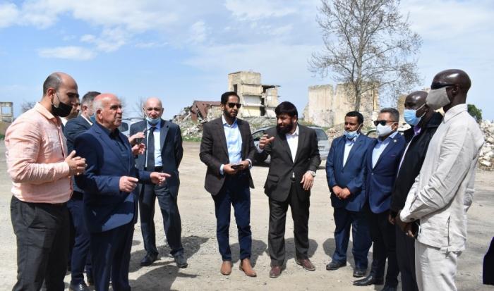 يجب أن يدين المجتمع الدولي بشدة التخريب الأرمني