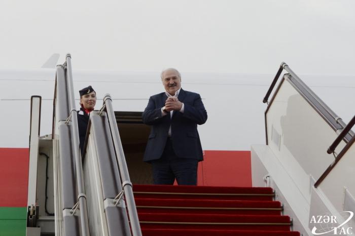 Loukachenko a terminé sa visite en Azerbaïdjan