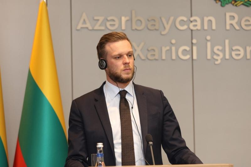 """""""Azərbaycan regionda ən böyük ticarət tərəfdaşımızdır"""" -  Litvalı nazir"""