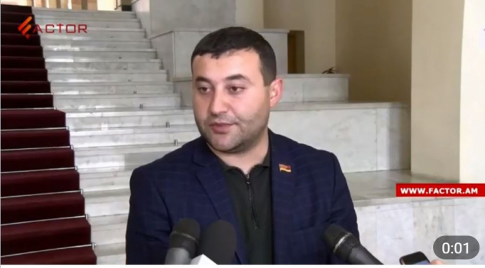 Erməni deputat Şuşa açıqlamasına görə tənqid olundu