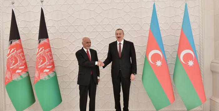 Afghan president calls Azerbaijani president
