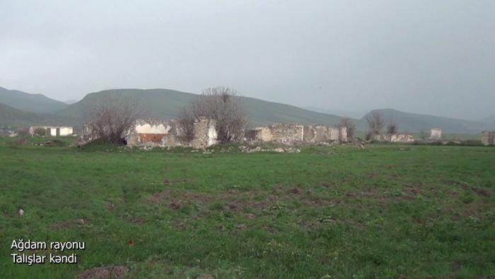 Ağdamın Talışlar kəndi -    VİDEO