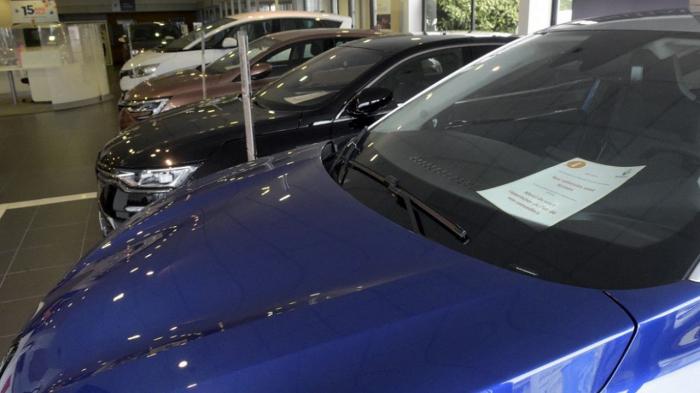 France: Le marché automobile toujours sous son niveau d