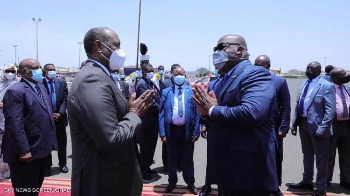 رئيس الاتحاد الإفريقي يبدأ زيارته للسودان ومصر وإثيوبيا