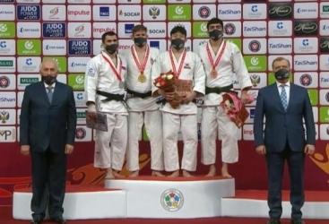 El equipo de judo de Azerbaiyán gana una medalla en el torneo de Grand Slam