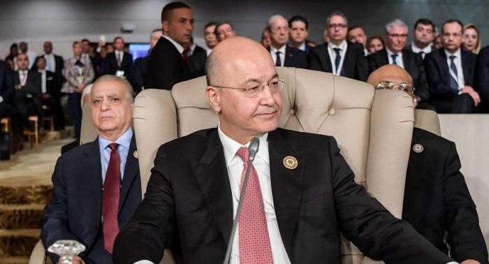 الرئيس العراقي: بغداد وواشنطن لا ترغبان بوجود عسكري أمريكي دائم في العراق