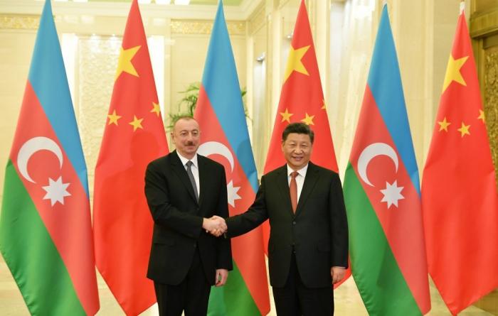"""""""Azərbaycanla münasibətlərə xüsusi əhəmiyyət verirəm"""" -   Çin lideri"""