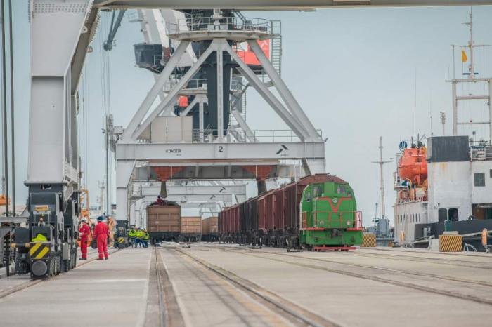 Azerbaïdjan: 15,9% des produits importés acheminés par voie ferroviaire