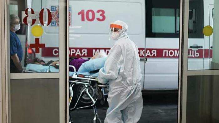 Rusiyada bir gündə 342 nəfər virusdan öldü