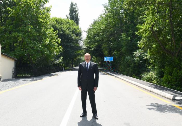 إفتتاح جسر جديد وطريق سريع في قابالا