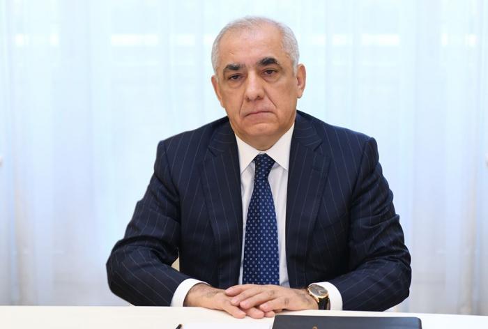 Azerbaijani PM expresses condolences to Russian counterpart