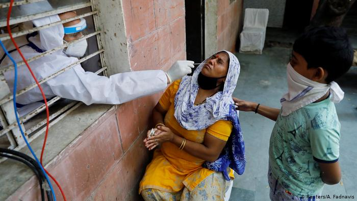 India reports new record daily rise in coronavirus cases
