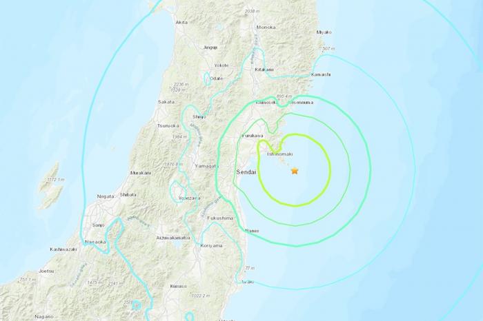 6.8-magnitude quake rattles northeast Japan, no tsunami risk