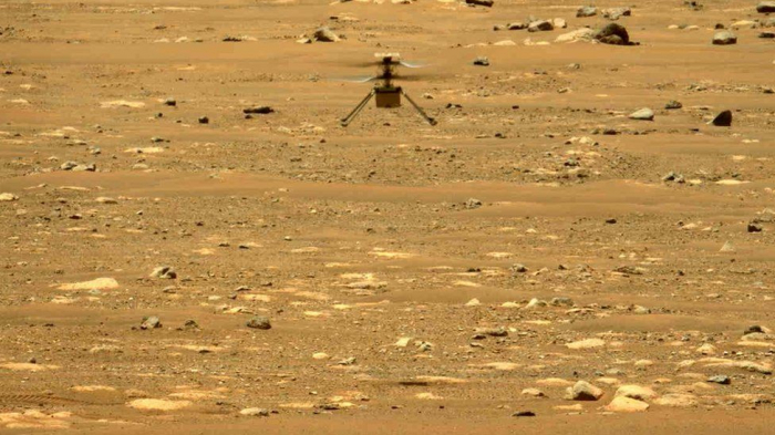Mars Ingenuity helicopter mission extended by Nasa -   VIDEO