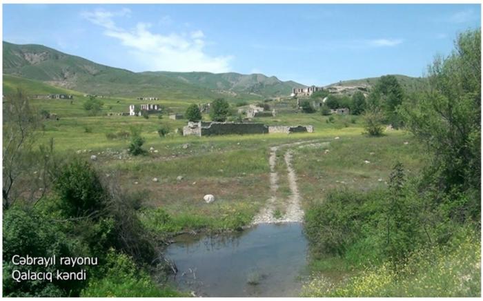 El Ministerio de Defensa emite imágenes de la aldea Galajik de Jabrayil