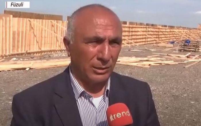 AZAL:Comienza la construcción del aeropuerto de Zangilan