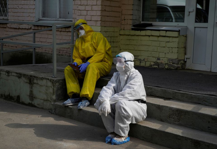 Russia records nearly 9000 new COVID-19 cases, 342 deaths