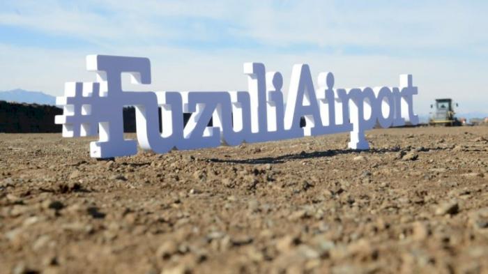 ¿Cómo avanza la construcción del aeropuerto de Fuzuli?