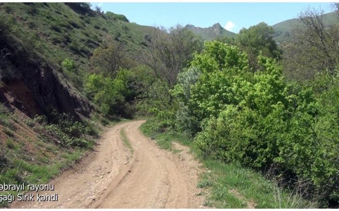 Ashaghi Sirik village of Azerbaijan's Jabrayil district –   VIDEO