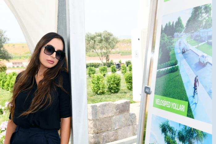 Leyla Aliyeva visita el Parque Nacional Gizilaghaj