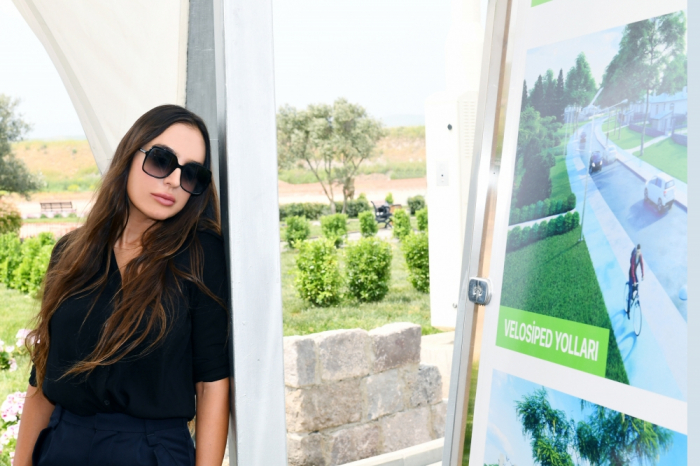 Leyla Aliyeva besucht Gizilagadsch-Nationalpark