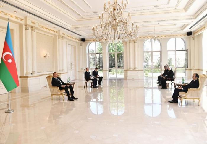 """""""La hermandad turco-azerbaiyana está en el pico más alto"""" -  Ilham Aliyev"""