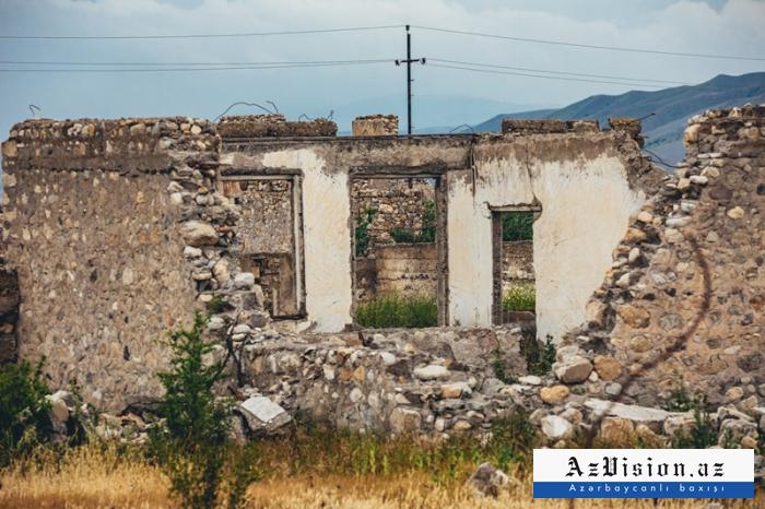 Spuren des armenischen Faschismus im befreiten Distrikt Dschabrayil-   FOTOS