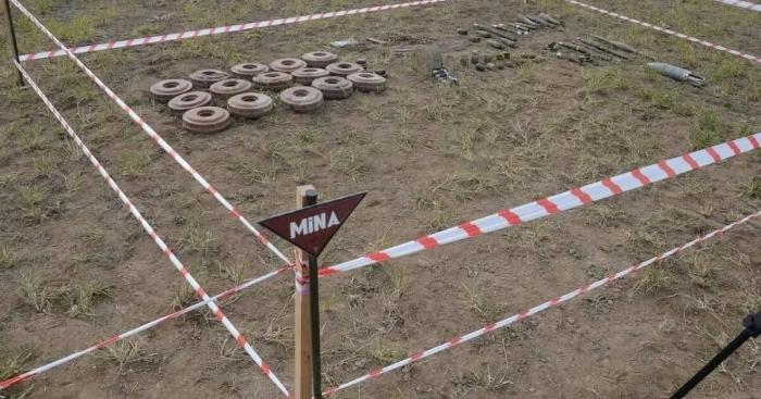Anuncian número de minas encontradas en territorios liberados