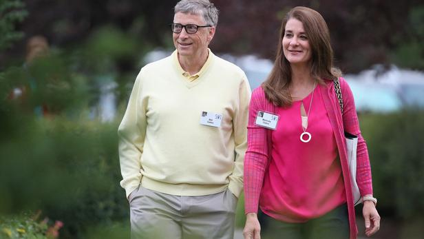 Le milliardaire Bill Gates et sa femme Melinda Gates annoncent leur divorce