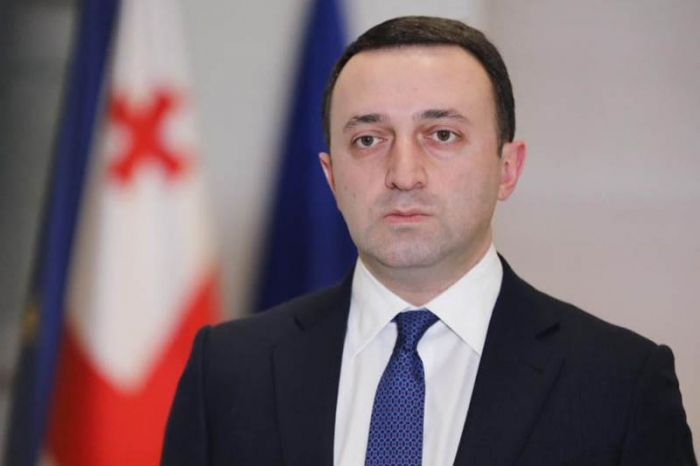 El primer ministro de Georgia llega a Azerbaiyán