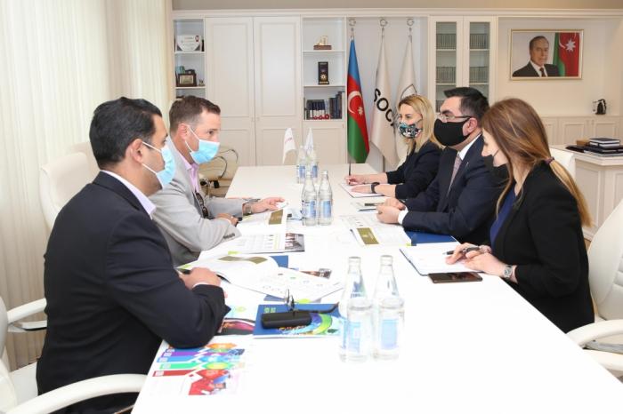 Vice President for Caspian West Region of Halliburton visits BHOS
