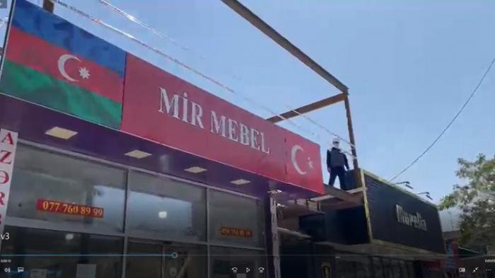 FHN Bakıda qanunsuz tikintinin qarşısını aldı -    VİDEO
