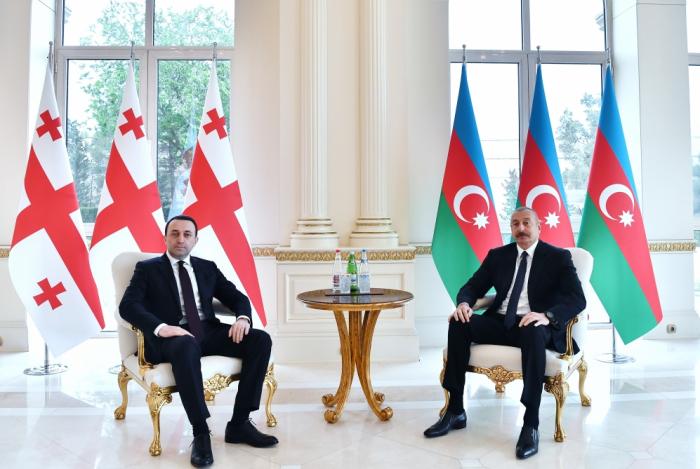 LePremier ministre géorgien invite Ilham Aliyevà effectuer une visite à Tbilissi