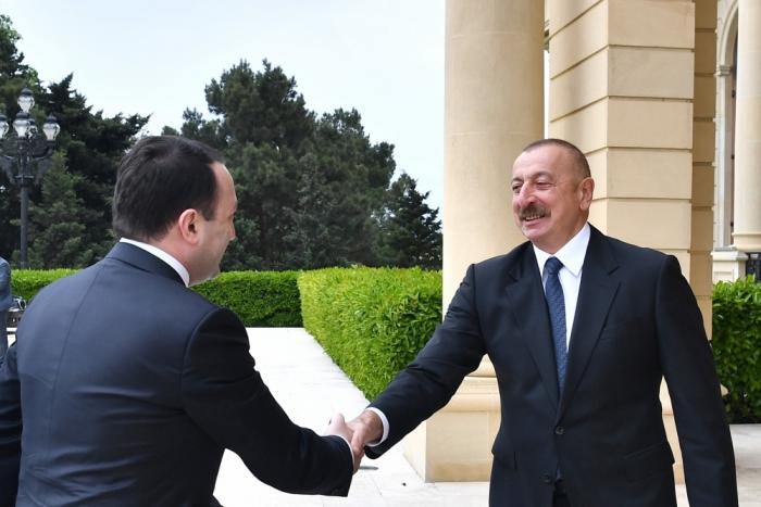 """Ilham Aliyev:   """"Nuestras iniciativas conjuntas tienen una buena historia de éxito"""""""