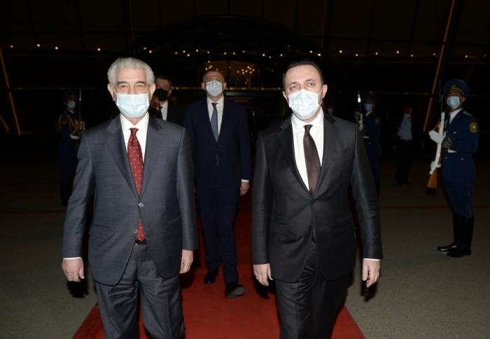 Georgian prime minister completes visit to Azerbaijan