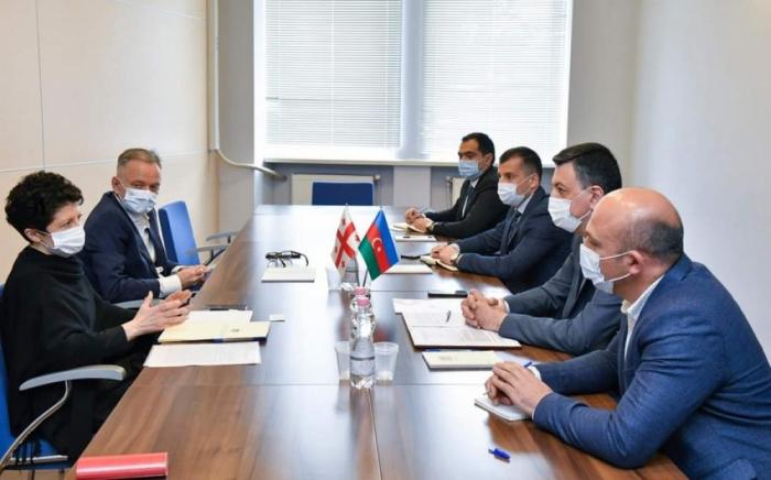 Aserbaidschan und Georgien diskutieren die Zusammenarbeit in Bereichen Kultur und Sport