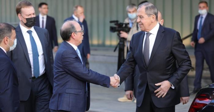 Treffen zwischen den Leitern der Außenministerien Russlands und Armeniens in Eriwan