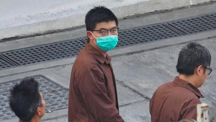 Aktivist Wong zu weiterer Haftstrafe verurteilt