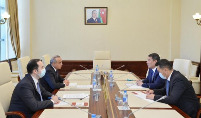 """السفير:   """"كازاخستان تدعم دائما وحدة أراضي أذربيجان"""""""