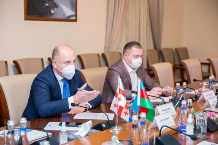 توقيع وثيقة تعاون بين إدارتي سكك حديد أذربيجان وجورجيا
