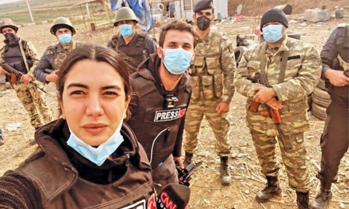 """Fulya Öztürkdən """"YAŞAT"""" marafonuna dəstək"""