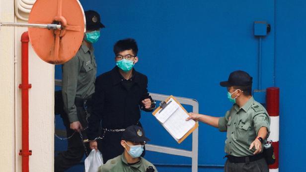 Le militant hongkongais Joshua Wong condamné à dix mois de prison supplémentaires