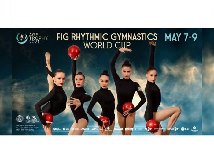 Azerbaijani national team holds podium training for upcoming Rhythmic Gymnastics World Cup in Baku
