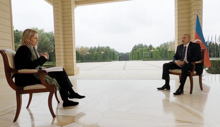 Interview von Präsident Aliyev mit BBC News stellt einen Rekord auf