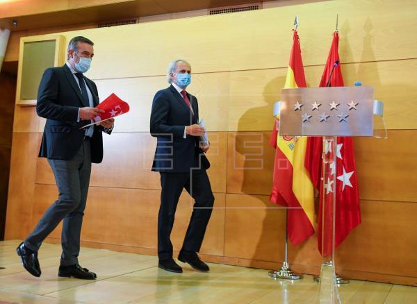 Madrid permitirá las reuniones en domicilios y no habrá toque de queda