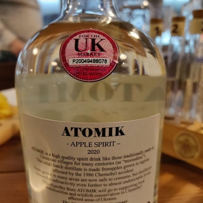 Chernobyl spirit drinks seized by Ukraine security teams